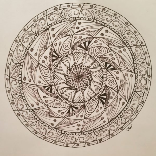 Dancing Lollipop Mandala