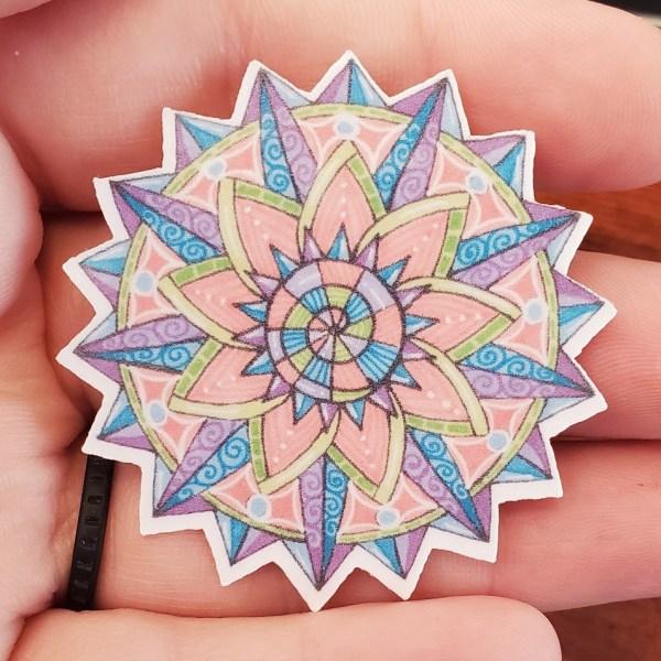18pt Star Mandala