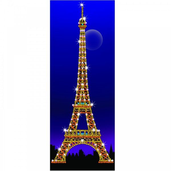 Eiffel Tower Strictly Sequin Art - Ksg