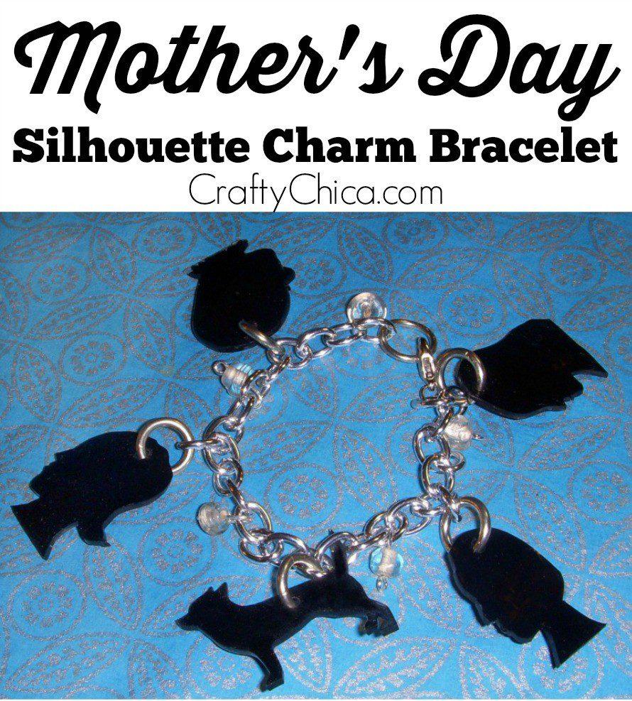 Silhouette-charm-bracelet