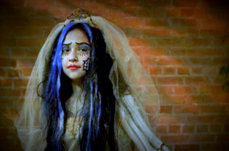 Corpse Bride Wedding Gown: DIY Corpse Bride Costume
