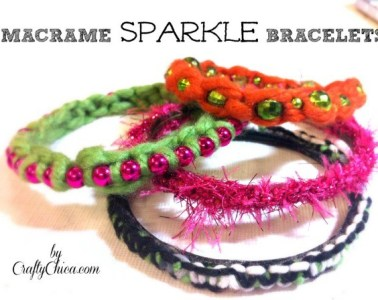 MacrameSparkleBracelets