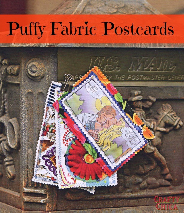 puffy-fabric-postcards