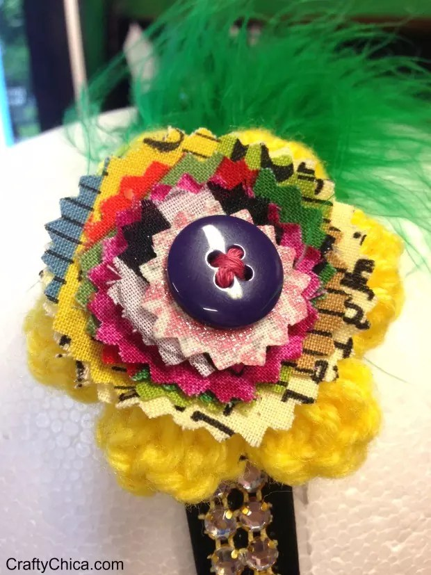 how to make fabric embellishments