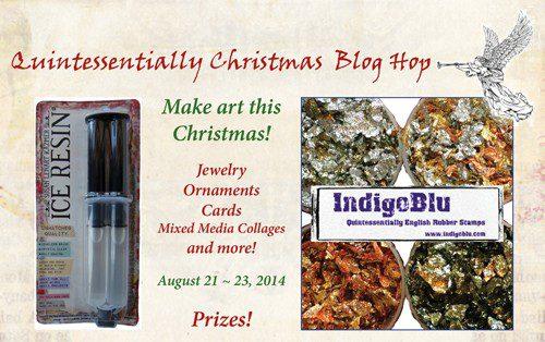 INDIGO ICE blog hop header
