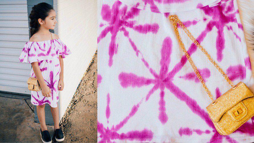 Sekka Shibori Dyed Summer Dress
