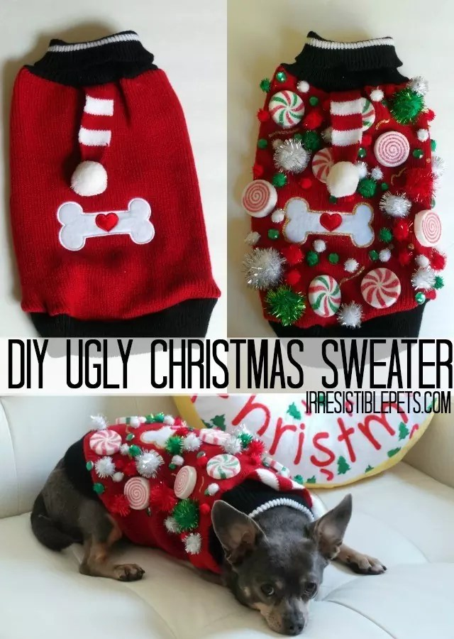 Ugly Christmas Sweater Swag - Crafty Chica™
