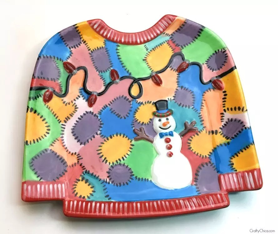 ugly-sweater-plate