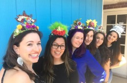 Latinx Art crowns by Crafty Chica