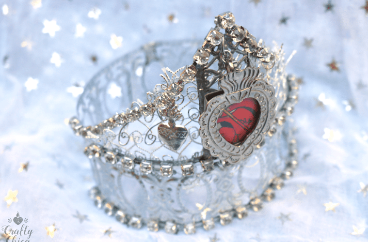 Queen of Your Destiny Crown by Crafty Chica.