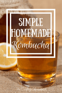 Easy Homemade Kombucha {Recipe}