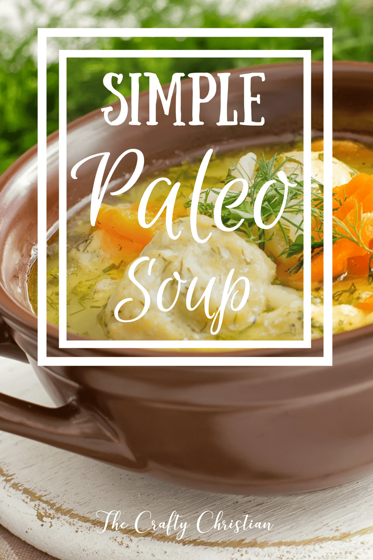 Following the Paleo or AIP lifestyle can be tough, so it can be handy to stock your arsenal with some super simple recipes. This paleo soup is a nutritional powerhouse, and only takes a few minutes of prep work. And the best part- SO DELICIOUS!
