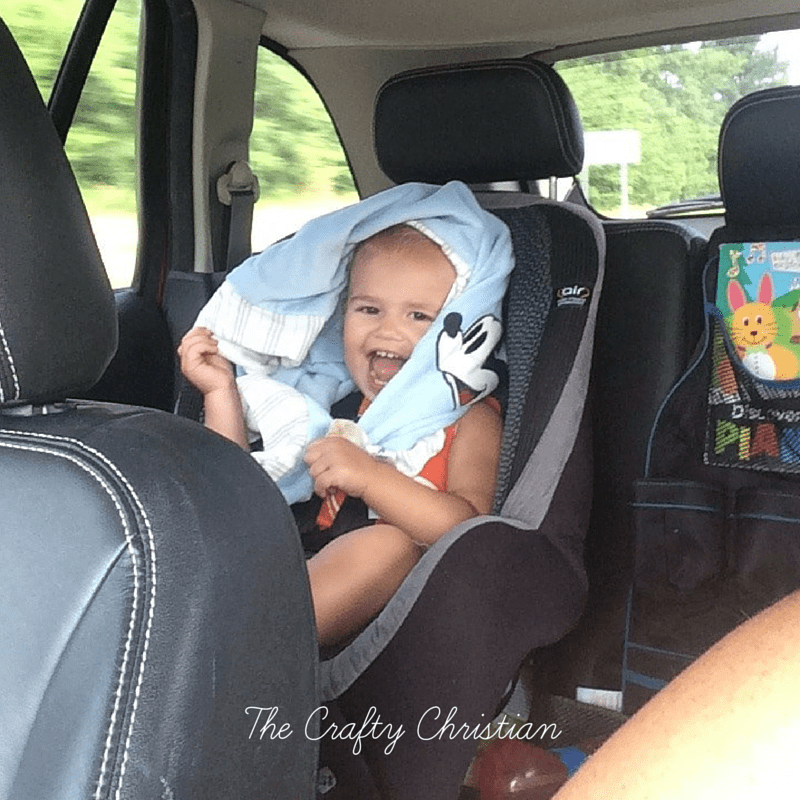 A road trip with toddlers is rough. Trust me, I know how you feel! This is how we made it through a 12 hour road trip (each way!) with 2 under 3! Traveling with toddlers