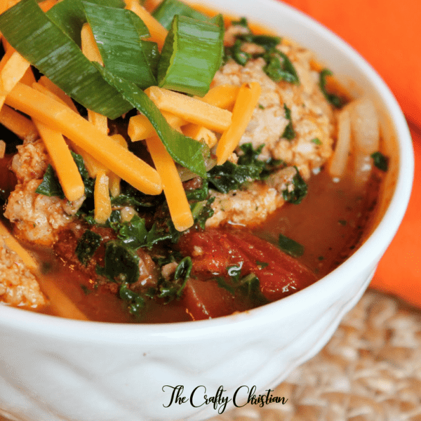 10-Minute Taco Soup {Recipe}