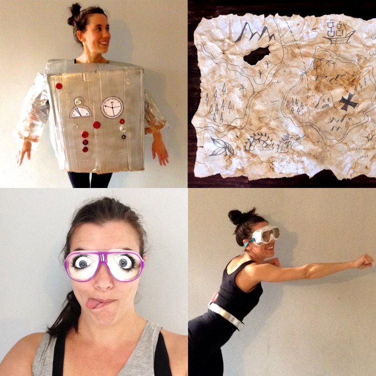DIY Dress Ups for Australian Book Week!