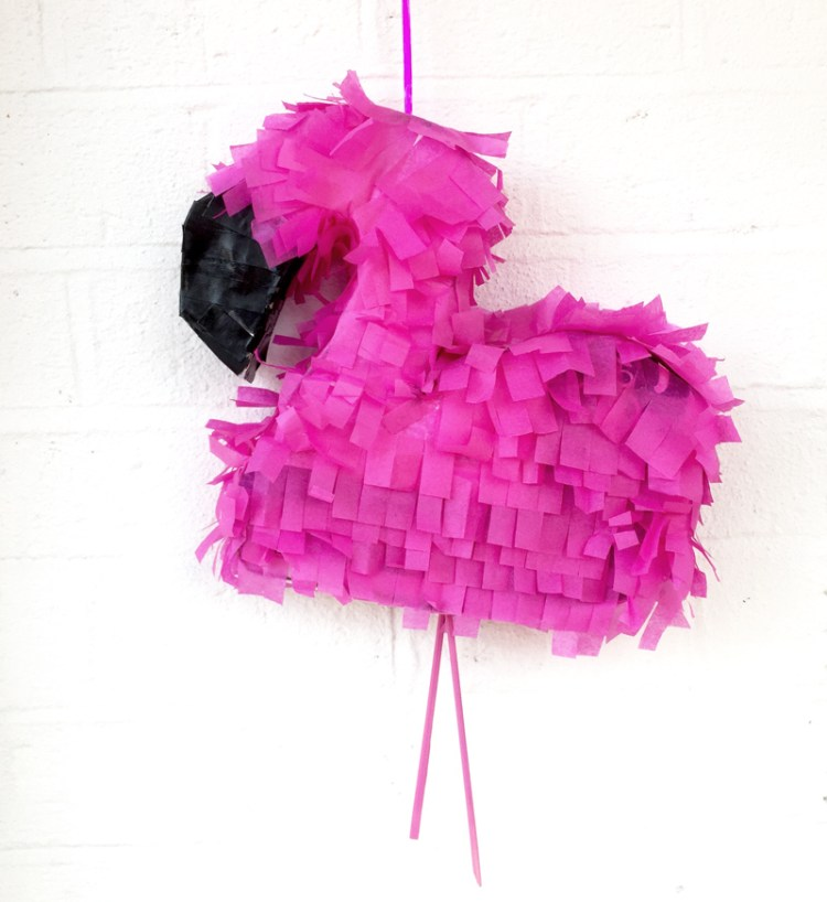 DIY Flamingo Piñata