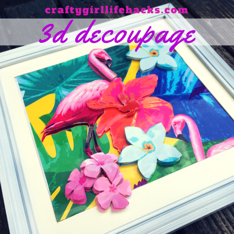 3D Wall Art Decoupage Wrapping Paper