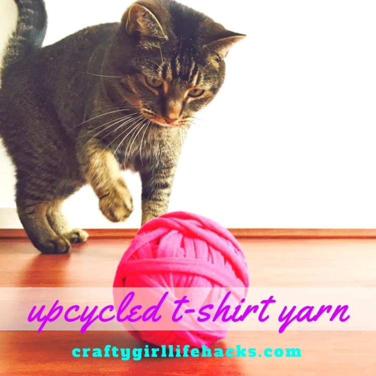 How to make upcycled t-shirt yarn