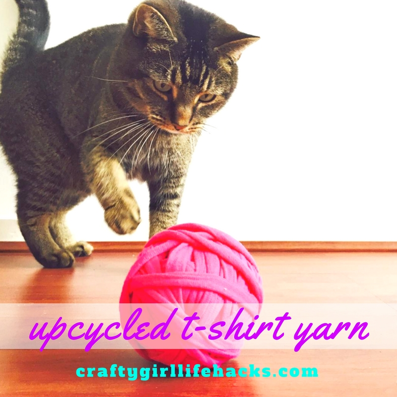 DIY T shirt yarn