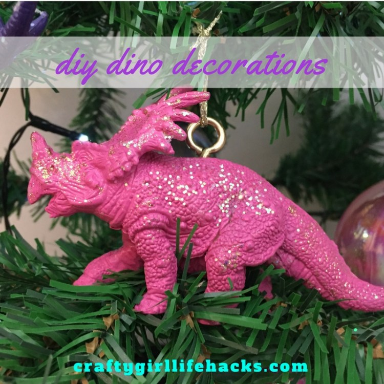 DIY Dinosaur Decorations Christmas