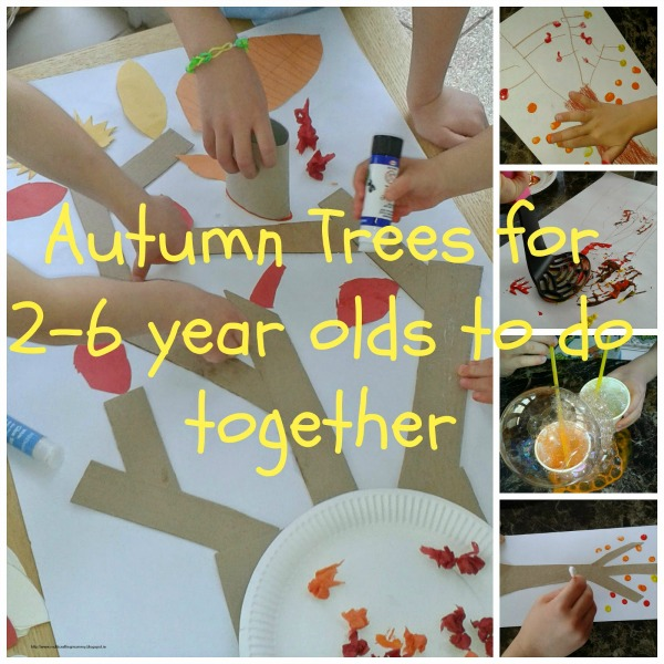 giant collaborative autumn tree
