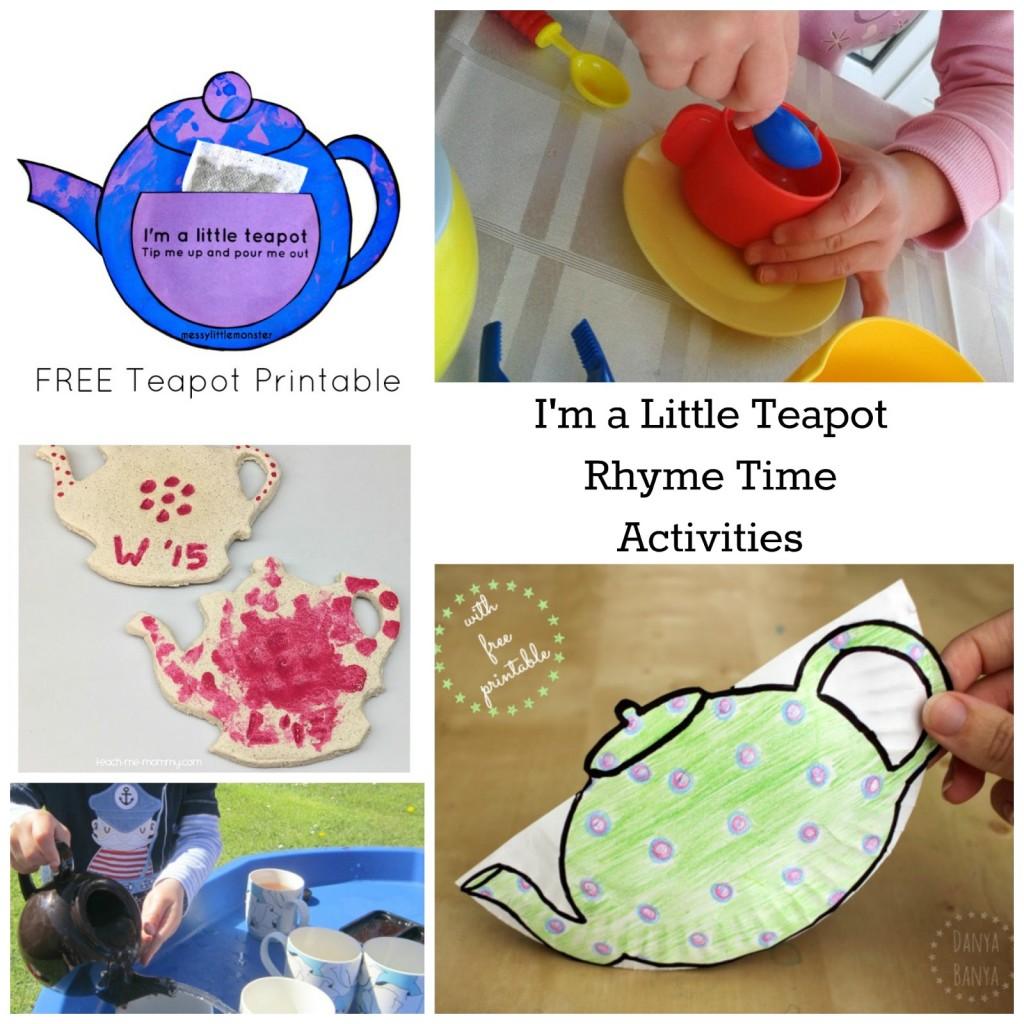 Little Tea Pot Tots Water Transfer Play