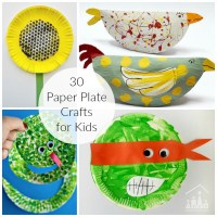 30 Awesome Paper Plate Crafts - Crafty Kids at Home