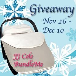 JJ Cole BundleMe Giveaway {Ends 12/10}