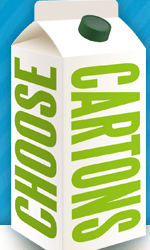 Do you use Plastic or Paper? Evergreen Fridge Hunt  #choosecartons