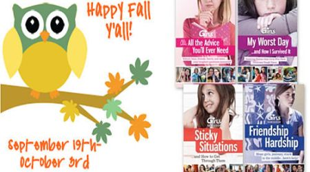 Happy Fall Y'all! Giveaway Event : win a Discovery Girls Survival Guide Set {ends 10/3} #SuperEvents