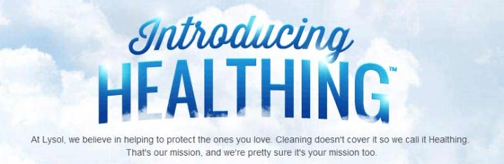 lysol healthing description