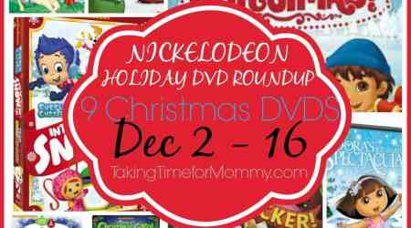 HUGE Nick Jr Holiday DVD #Giveaway
