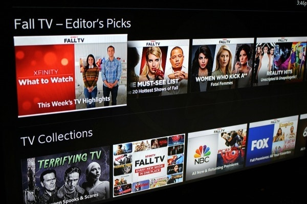 fall tv picks Xfinity