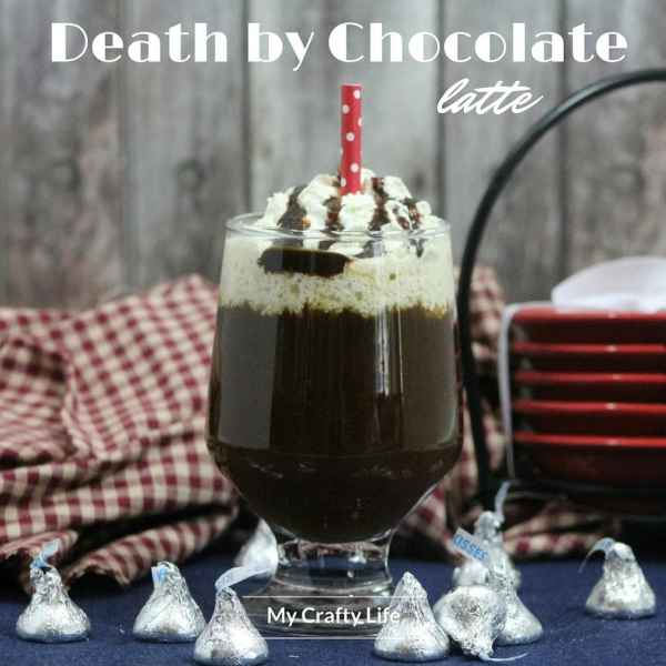 Decadent, frothy, super chocolatey goodness to warm up to during the winter or anytime. It's Death by Chocolate.