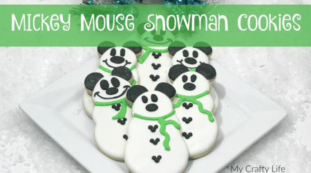 Mickey Mouse Snowman Cookie Recipe