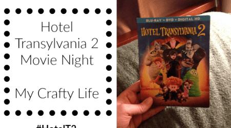 Hotel Transylvania 2 Movie Night @HotelT  #HotelT2 #ad