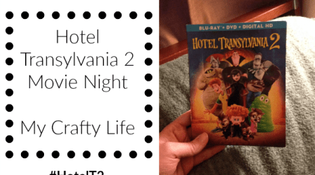 Hotel Transylvania 2 Movie Night @HotelT  #HotelT2 #ad