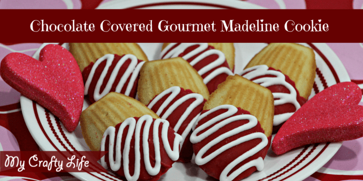 Chocolate Covered Gourmet Madeline Cookies Recipe