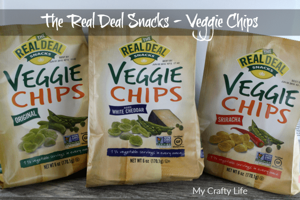 The Real Deal Snacks - Veggie Chips