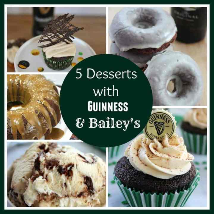 5 Desserts With Guinness and Bailey's