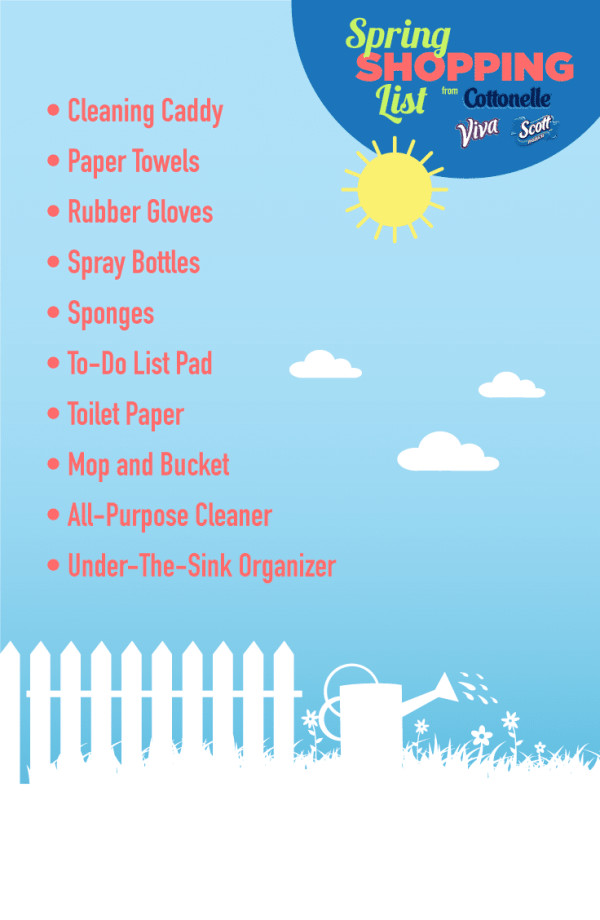 Spring Cleaning Shopping List - #SpringCleaning16 #Walmart