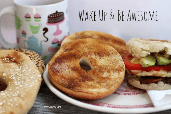 Wake Up & Be Awesome. Check out few things I have found that helps to start your day out right.