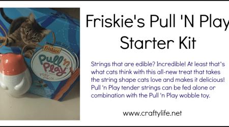 Friskies Pull 'N Play #MostPlayFulCat #ad