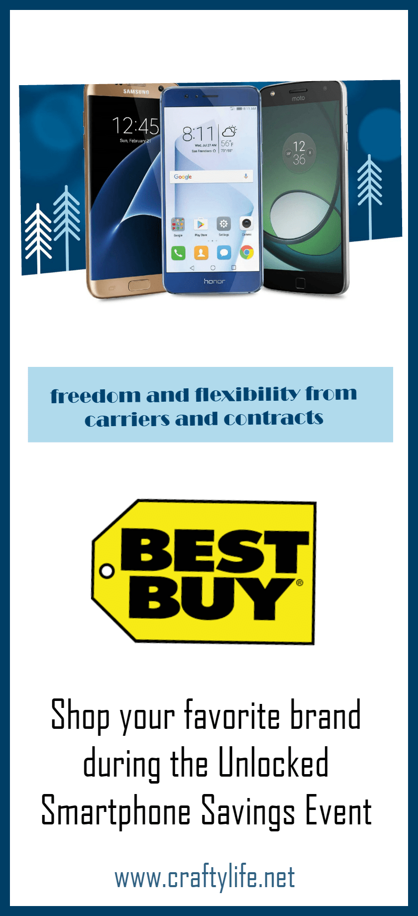 Freedom and Flexibility! Shop your favorite brand during the Unlocked Smartphone Savings Event at Best Buy.