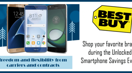 Shop your favorite brand during the Unlocked Smartphone Savings Event – @BestBuy