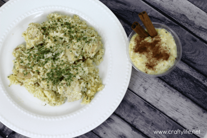 #VintageMinute - 15 Minute Chicken and Rice Dinner