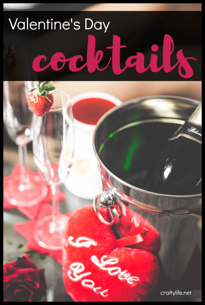 The most romantic night of the year is upon us. Why not spice it up this year with these Valentine's Day cocktails.