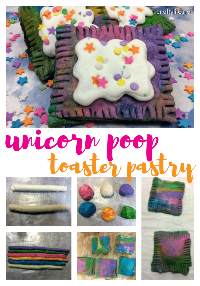 Nothing is better than unicorns, except maybe unicorn poop toaster pastry tarts.