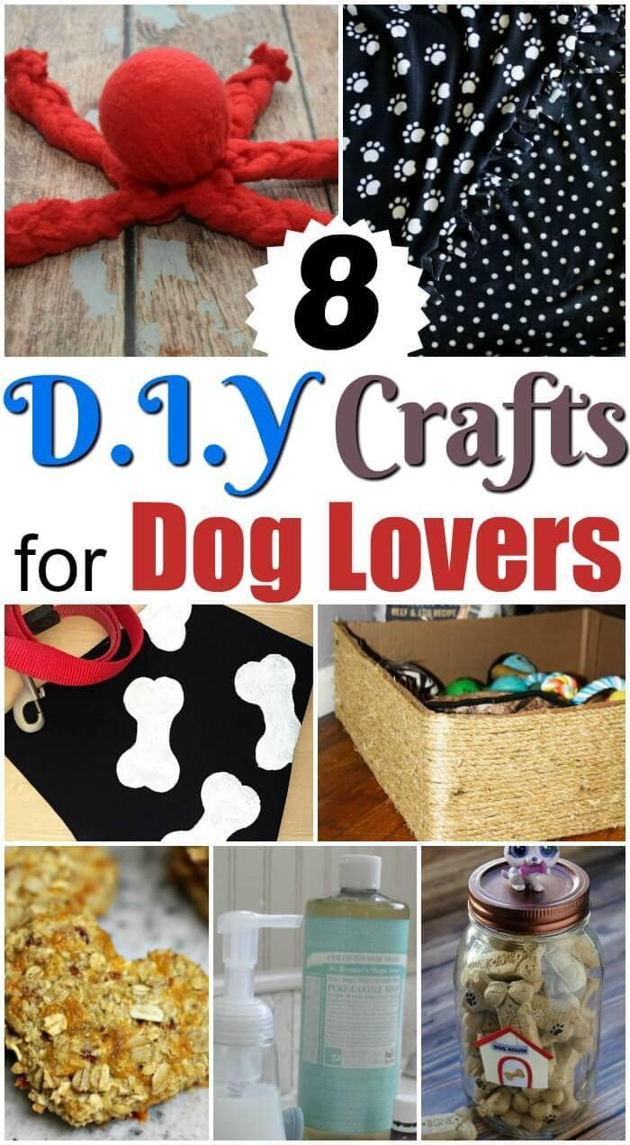 Your pet loves you no matter what and they will love you even more with these eight DIY Crafts for Dog Lovers. No need to spend a lot of money at the store!