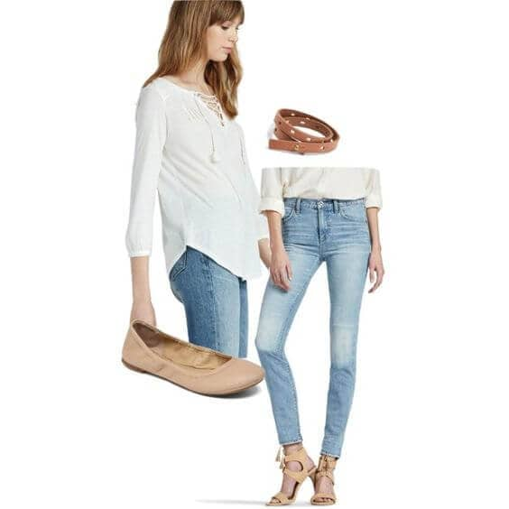 Vintage Inspired Look To Go With Your Trendy High Rise Jeans